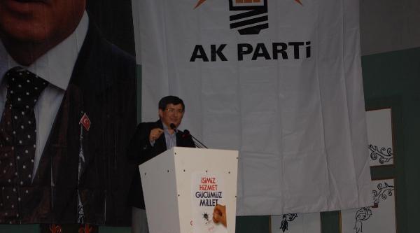 Bakan Davutoğlu: Bizi Durduramayacaklar
