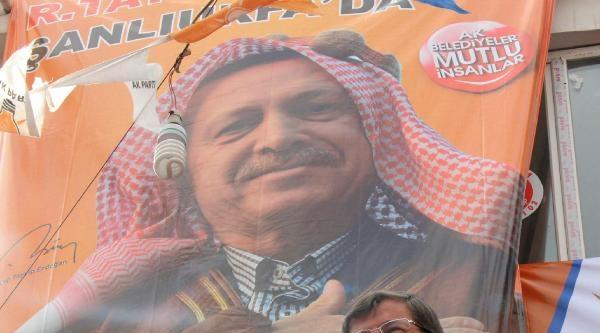 Bakan Davutoğlu Şanliurfa'da (2)