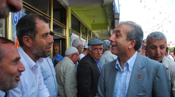 Bakan Eker, Bitlis'te Erdoğan İçin Oy İstedi