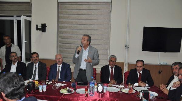 Bakan Eker, Bitlis'te Erdoğan İçin Oy İstedi (3)