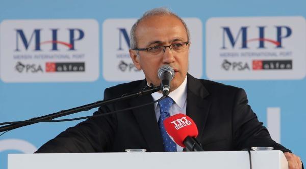 Bakan Elvan, Boğsak Tüneli'nin Açılışını Yaptı (2)