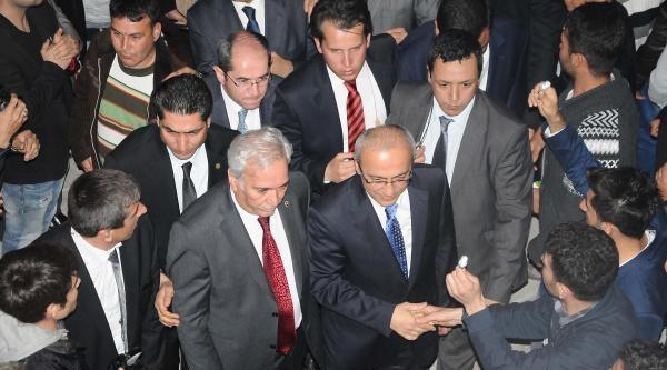 Bakan Elvan, Boğsak Tüneli'nin Açılışını Yaptı