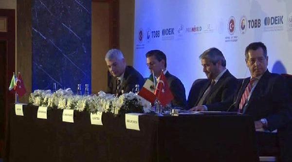 Bakan Ergün: Türkiye Ile Meksika Arasindaki Ticaret Hacmi Yeterli Değil
