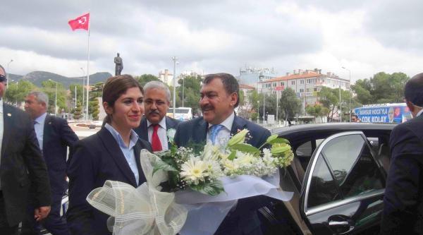 Bakan Eroğlu, Muğla'da 16 Temel Atıp, 4 Açılış Yaptı (2)