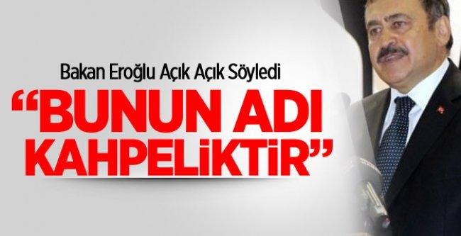 Bakan Eroğlu Net Konuştu!