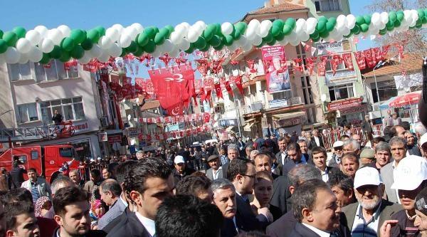 Bakan Eroğlu Simav'da Temel Attı, Tesis Açtı