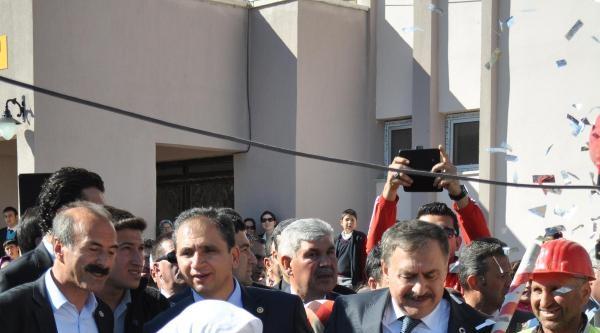 Bakan Eroğlu Simav'da Temel Attı, Tesis Açtı (2)