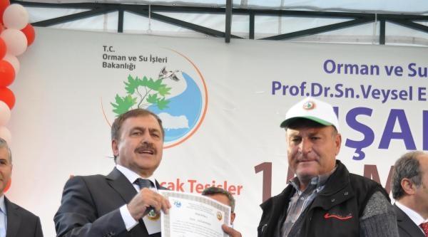 Bakan Eroğlu Simav'da Temel Attı, Tesis Açtı (3)