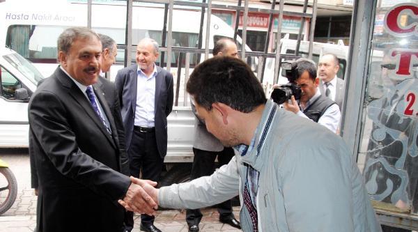 Bakan Eroğlu: Türbeye Müdahaleye Müsaade Etmeyiz