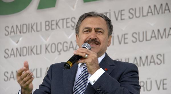 Bakan Eroğlu: Türkiye Üzerinde Oyun Oynanıyor