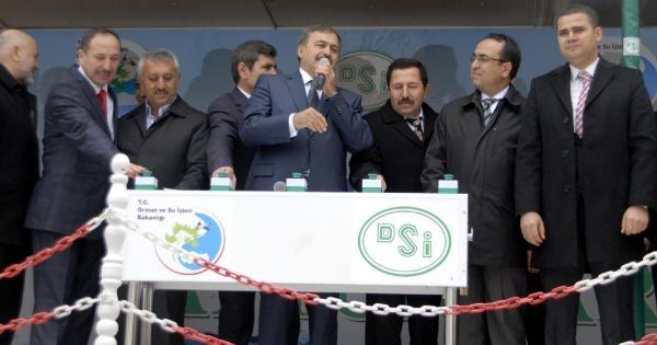 Bakan Eroğlu: Yağışlar Başladı, Sıkıntı Kalmayacak