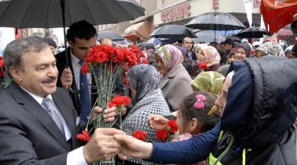 Bakan Eroğlu: Yollarımız Afyon Kaymağı Gibi