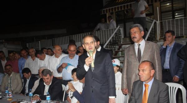 Bakan Kılıç : Çankaya Biletini Oylarınızla Başbakanımızın Cebine Koyacaksınız
