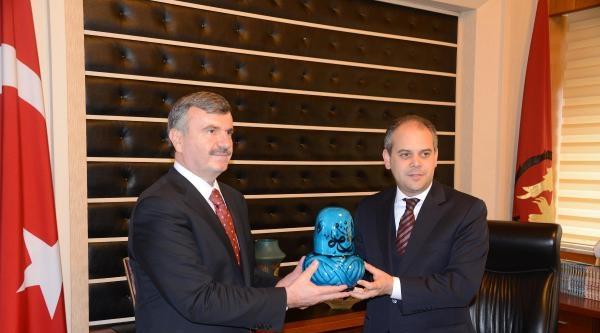 Bakan Kılıç, Türkiye Kupası Final Maçı İçin Konya'ya Geldi (3)