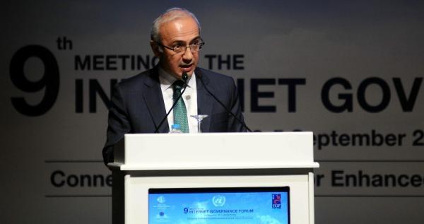 Bakan Lütfi Elvan, İnternet Yönetişimi Forumu'nun Açılışında Konuştu