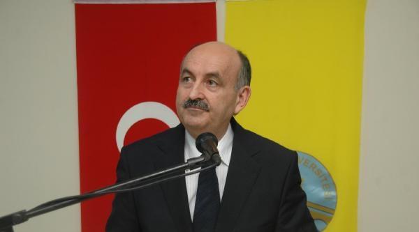 Bakan Müezzinoğlu: Türkiye'nin Yolculuğunda Tıp Camiası Öncülük Yapacak