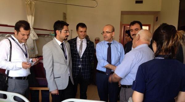 Bakan Şimşek'ten Bayram Ziyaretleri