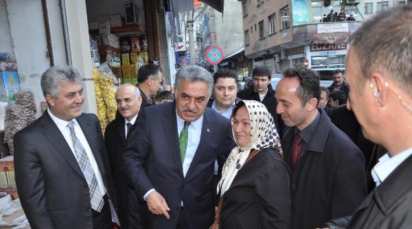 Bakan Yazıcı Trabzon'da Esnaf Ziyaretinde (3)