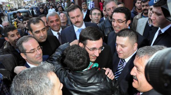 Bakan Yılmaz: Bölge İnsani, Türkiye'nin İstikrarindan Yana