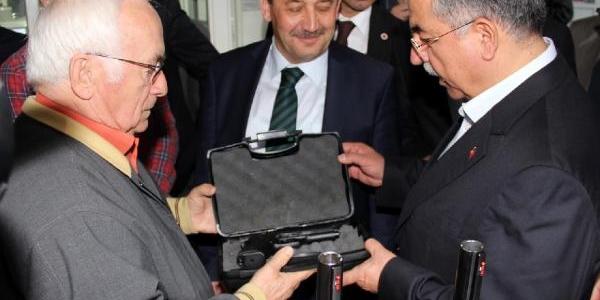 Bakan Yilmaz Giresun'da Cenaze Törenine Katildi