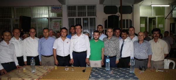 Bakan Zeybekci'den, Köylüleriyle Gece Yarısı Sohbeti