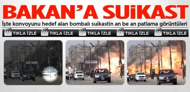 Bakan'a suikast anı an be an kamerada!