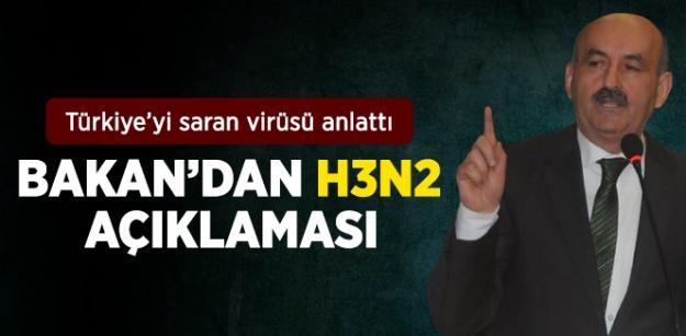 Bakan'dan H3N2 açıklaması...
