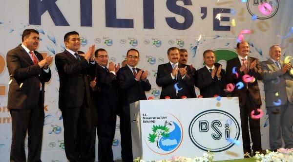 Bakanlar Eroğlu Ve Şahin, Araban'da 185 Milyonluk 10 Tesisin Temelini Atti (3)