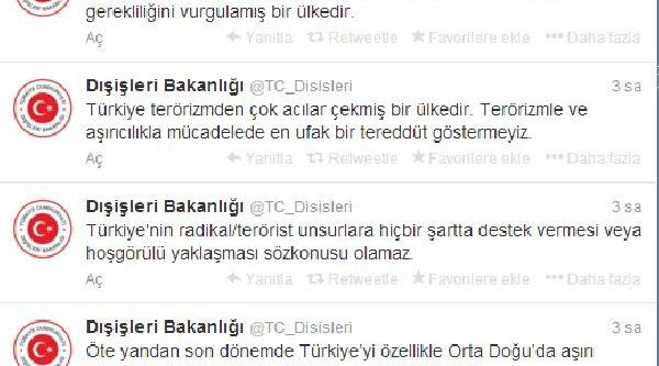 Bakanlik Sözcüsü Gümrükçü: Türkiye'nin Radikal/terörist Unsurlara Destek Vermesi Söz Konusu Olamaz