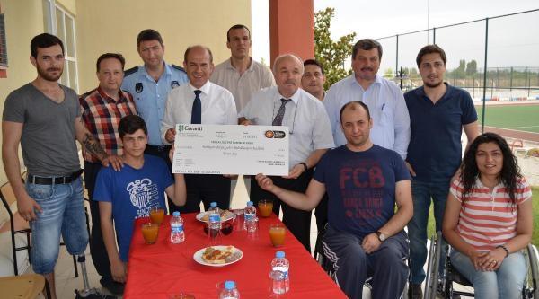 Balıkesir Büyükşehirspor'a Tekerlekli Sandalyede Centilmenlik Ödülü