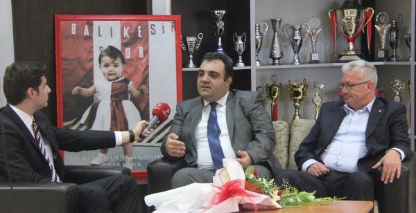 Balıkesirspor Başkanı: Akhisar'ı Model Alıyoruz