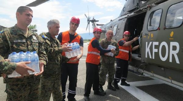 Balkanlar'da Yaşanan Sel Afeti İçin