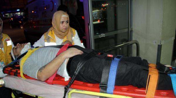 Balkondan Evine Girmek İsterken Düşerek Yaralandı
