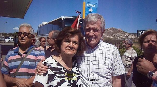 'balyoz'dan Özgür Kalan Sancar'a Foça'da Sevgi Seli