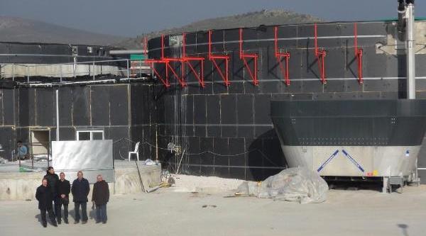 Bandirma Biogaz Elektrik Santrali Bitme Aşamasinda