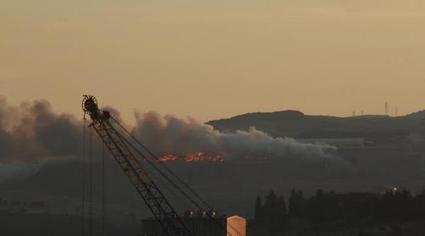 Bandırma Çöplüğündeki Yangın Kontrol Altına Alındı