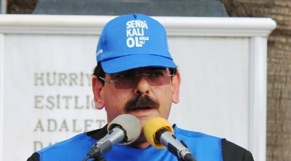 Bandırma'da 'soma' Protestosu