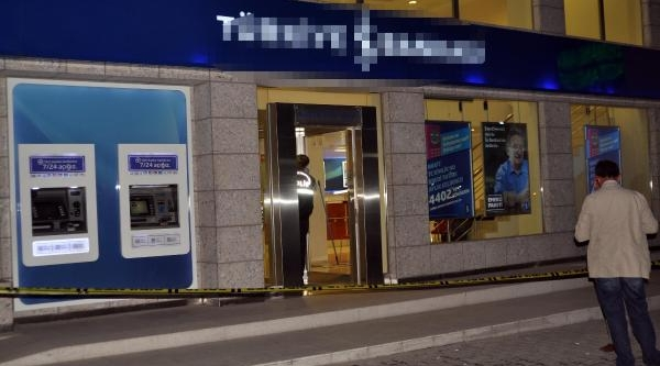 Banka Soydu Halk Otobüseyle Kaçti (Fotoğraflar)