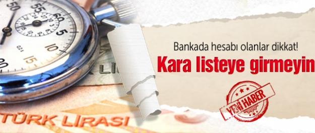 Bankada hesabı olanlar bu tarihe dikkat!