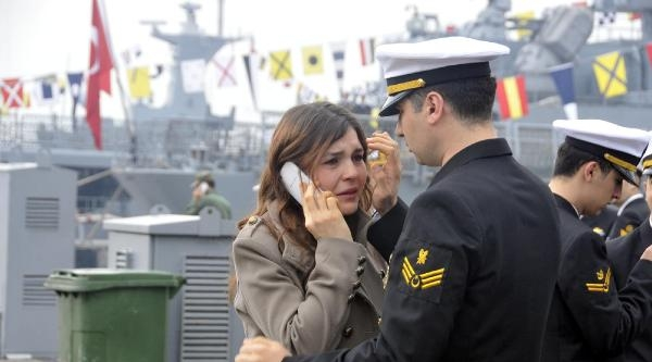 Barbaros Türk Deniz Görev Grubu'na Bağlı Gemilerimiz  Moritanya'ya Ulaştı