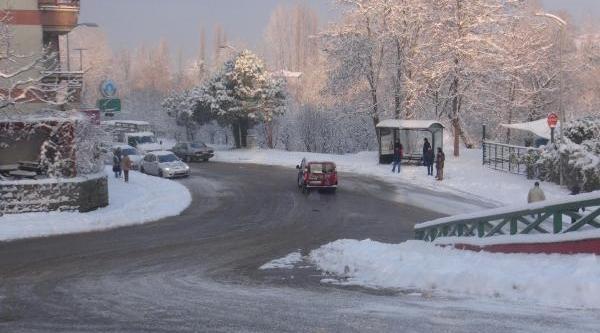 Bartin'da Eğitime Kar Tatili