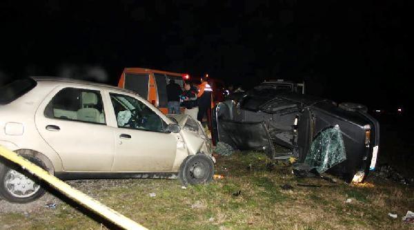 Bartın'da Kaza: 1 Ölü, 4 Yaralı