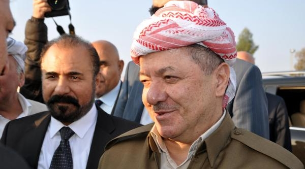 Barzani, Perwer'le Habur'dan Giriş Yapti
