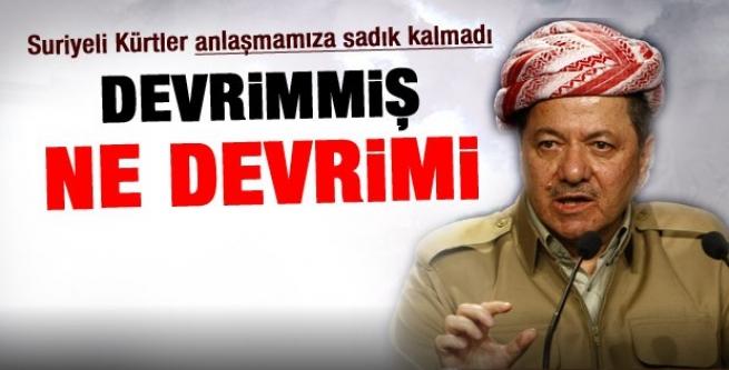 Barzani PYD hakkında konuştu