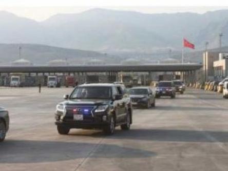 Barzani ve Perver Türkiye'ye 50 Araçlık Konvoyla Geldi...