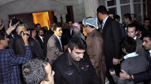 Barzani Ve Perwer'i Ak Partili Dindar Ve Şirnak Vali Vekili Uğurladi