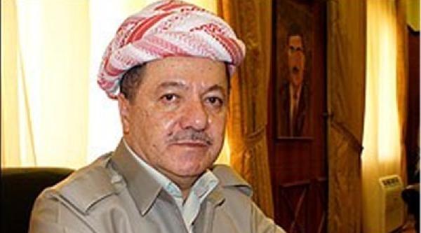 Barzani'den Erdoğan'a Başsağlığı Mesajı