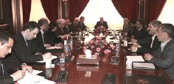 Barzani'nin Görüştüğü Suriye Kürtleri'nden Yeni Toplanti