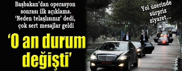 Başbakan Davutoğlu'ndan operasyon için ilk açıklama
