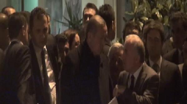Başbakan Erdoğan Ak Parti İl Başkanlığından Ayrıldı